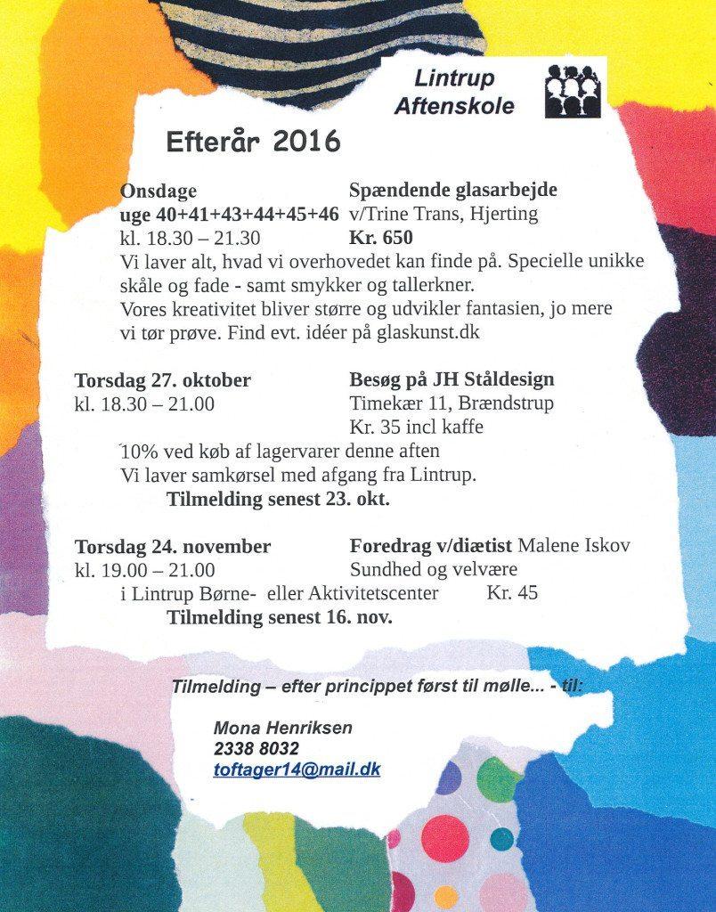 program 2016 efteraar